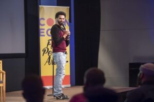 Coming Home: Telling reentry stories through hip-hop and comedy